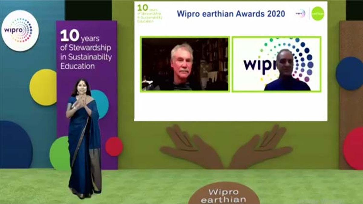 CMS कानपुर रोड कैम्पस को रिकार्ड लगातार छठी बार विप्रो अर्थियन अवार्ड (Wipro Earthian Award) से मिला सम्मान
