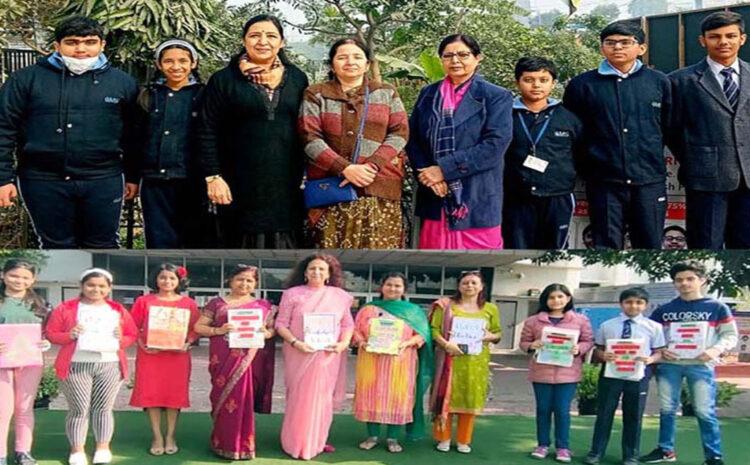 CMS कानपुर रोड व गोमती नगर कैम्पस की छात्र टीम विप्रो अर्थियन अवार्ड (Wipro Earthian Award) से सम्मानित