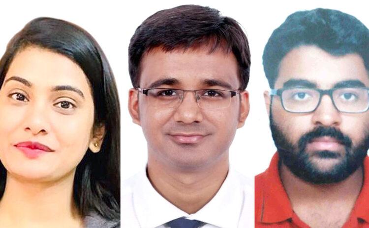 PCS बने CMS के तीन मेधावी छात्र