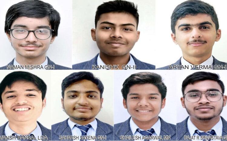 भारत सरकार की किशोर वैज्ञानिक प्रोत्साहन योजना में CMS के सात छात्र चयनित