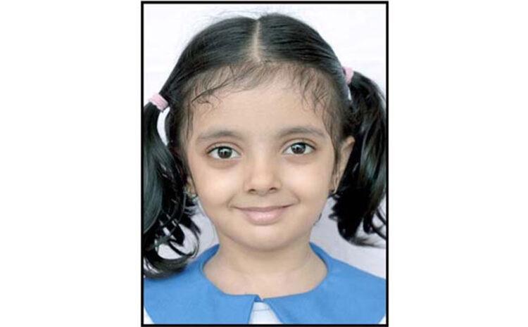 Jumble Word Activity में अक्षिता ने जीता गोल्ड मेडल