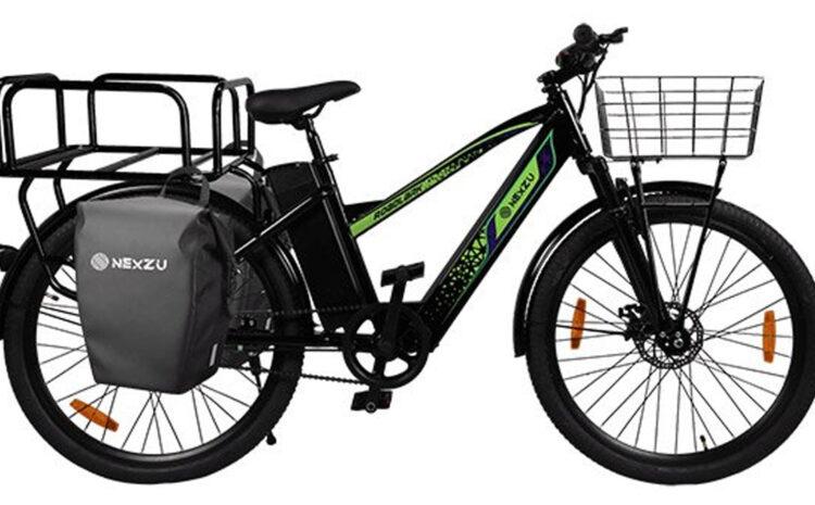Nexzu Roadlark Cargo: दमदार इलेक्ट्रिक साइकिल, सिंगल चार्ज में चलेगी 100 किमी और उठाएगी 50Kg वजन भी