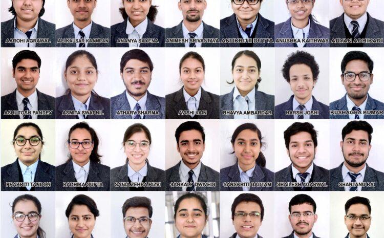CMS के 28 छात्रों को भारत सरकार की 1 करोड़ 12 लाख रूपये की स्कॉलरशिप